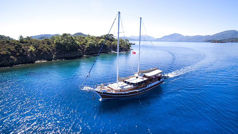 Sailboat Charter Turkey - Bareboat Charter Turkey - Rent A Sailboat - Private Yacht Charter Turkey - Crewed Yacht Charter Turkey