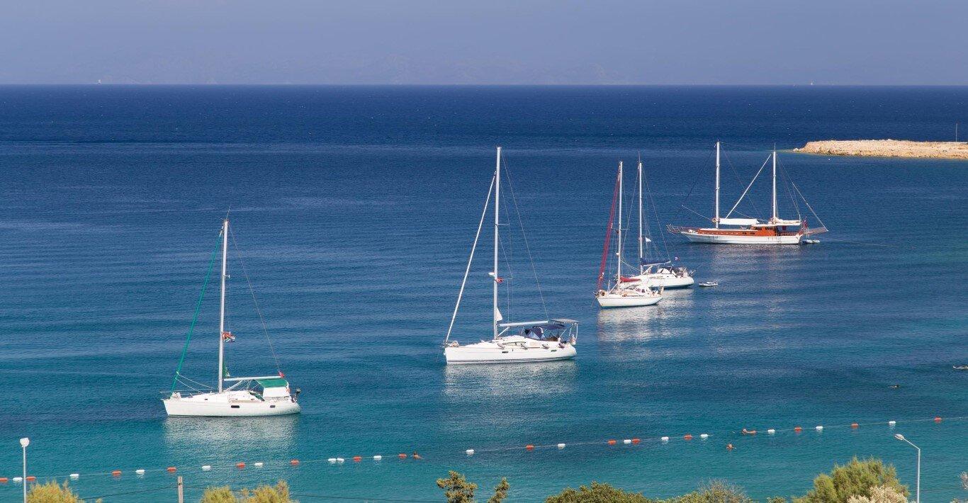 Kos Southern Dodecanese yacht charter routes sailing holiday boat charter sailboats gulets catamarans motor yachts