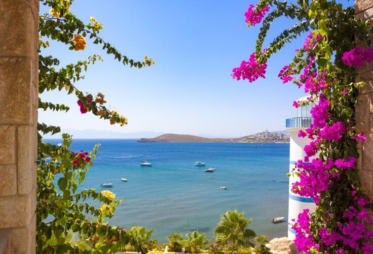 Bodrum Northern Dodecanese yacht charter routes sailing holiday boat charter sailboats gulets catamarans motor yachts