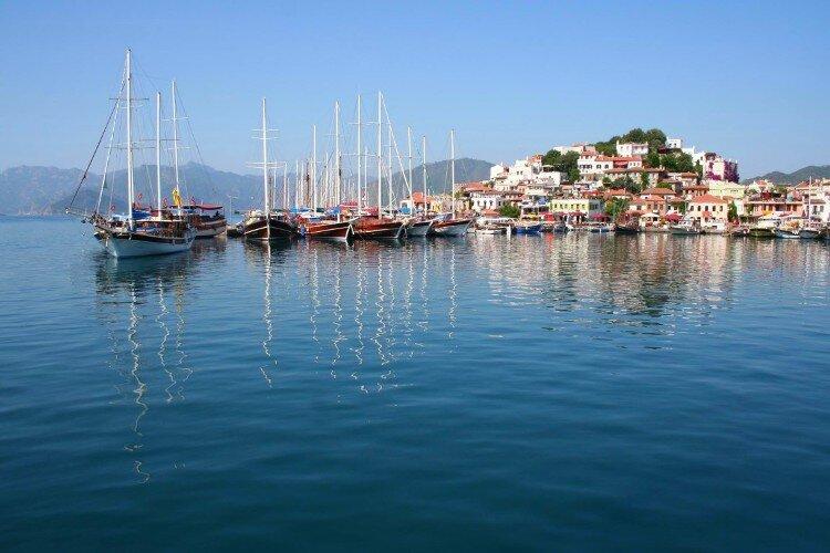 marmaris hisaronu yacht charter routes sailing holiday boat charter sailboats gulets catamarans motor yachts